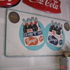 Large Barq's and Vernors Tin Sign