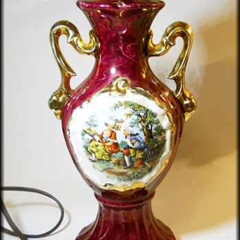 Old Lamp - Regal Looking - LusterWare - Lamps