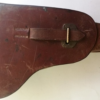 WWII German luger holster real or fake?