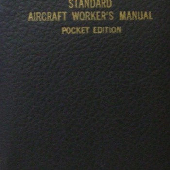 1941 Standard Aircraft Worker's Manual, Pocket Edition - Military and Wartime