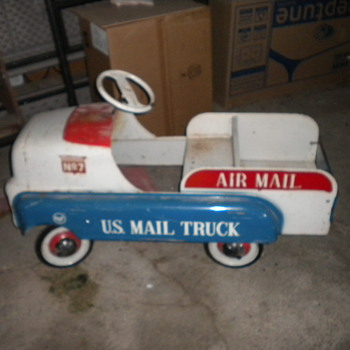 old kiddie car from dads garage - Model Cars