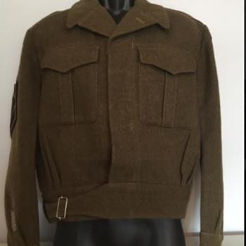 Post-WWII Royal Winnipeg Rifles Staff Sergeant's Battle Dress  - Military and Wartime