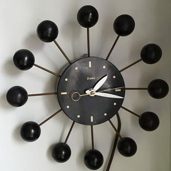 Mid century modern Snider clock. - Clocks