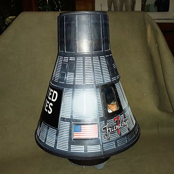 GI Joe John Glen Friendship 7 Mercury Space Capsule circa 2000 - Toys