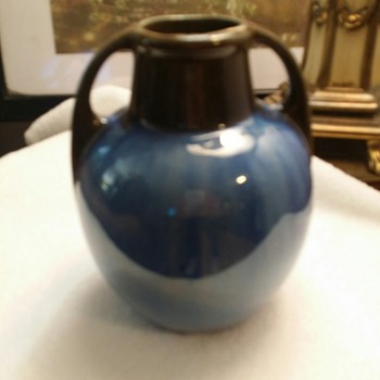 Fulper two handled jug/vase - Art Deco