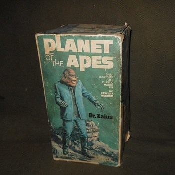 Planet Of The Apes Dr Zaius Model 1970s Addar Products Corp - Toys