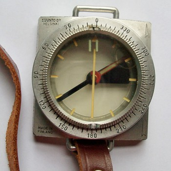 Suunto by Helsinki Vintage Compass - Tools and Hardware