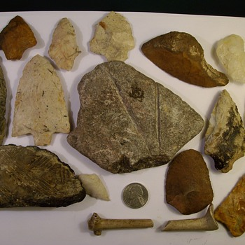 "More ""Finds"" From 1300-1500 Florida Timucuan Indian Mounds in North East Florida - Native American"