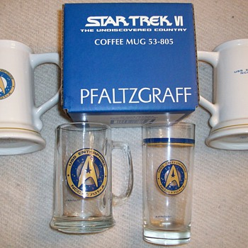 Star Trek Glassware Collection - Movies