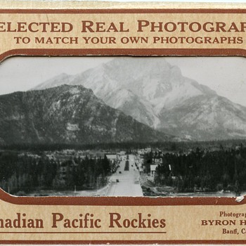 "Souvenir photos of the ""Canadian Pacific Rockies"" - Photographs"