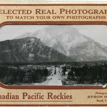 "Souvenir photos of the ""Canadian Pacific Rockies"" - Photographs"