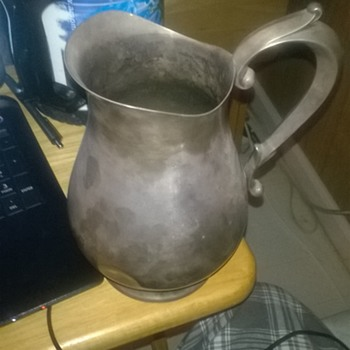 reed & Barton 1807 jamestown sterling silver pitcher