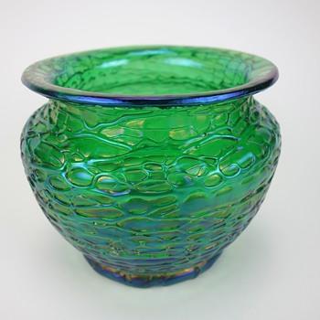 LOETZ CRETE CHINE VASE - Art Glass