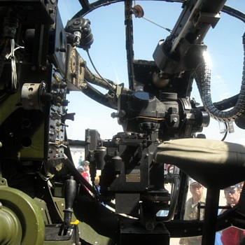 Inside a B25J Mitchell Bomber Heavenly Body - Military and Wartime