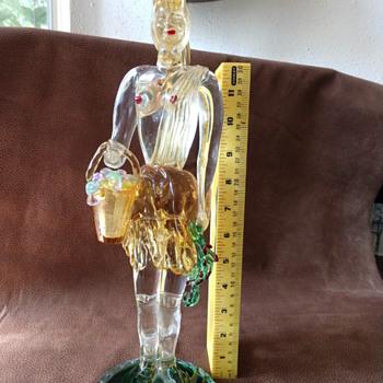 Barovier toso murano lady - Art Glass