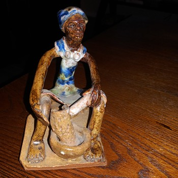 Black Woman Figurine - Figurines