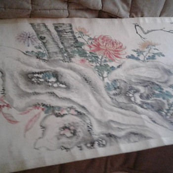 Asian - Chinese Scroll - Asian