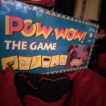 First edition pow wow board game 1993 - Games