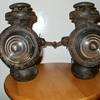 Old Ford Kerosene Headlamps