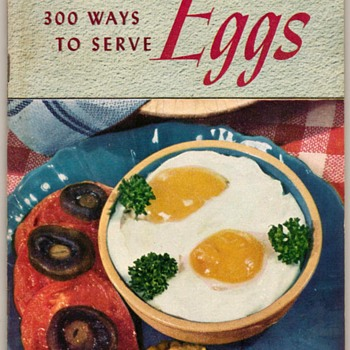 "1949 - Recipe Booklet ""Eggs"" - Books"