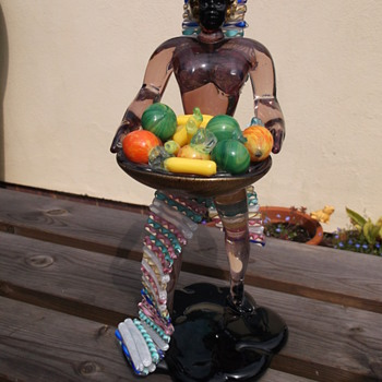 Impressive Murano Glass Figure