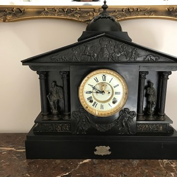 Our Ansonia Mantle Clock - Clocks