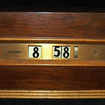 "Telechron Cyclometer ""Tribute"" #8B09 1936"