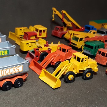 Massive Mechanical Monsters Matchbox Monday A Cool Collection of Construction Cars - Model Cars