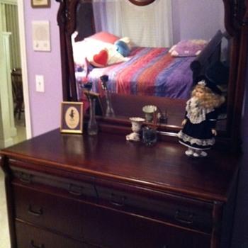 Victorian Bed/Dresser
