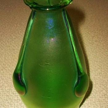 Loetz Creta Vesuvian Vase c.1900 - Art Glass
