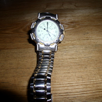 Watch with Compass  USMC inscription  from Vietnam Veteran friends estate  gift from his family for helping them out - Wristwatches
