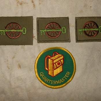 Saturday Evening Scout Post Scout Position Quartermaster Patches - Medals Pins and Badges