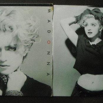 "MADONNA ""Holiday""  LP - Whoo Hoo! - Music Memorabilia"