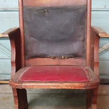 Old Theatre Chair