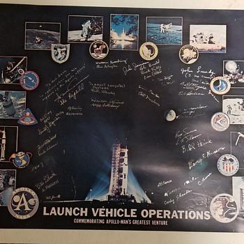 NASA Apollo Missions Retirement Poster - Advertising