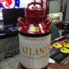 Embossed Atlantic Refining Company Five Gallon Oil Can