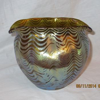 Loetz Phaenomen PG 7767  Circa 1899 - Art Glass