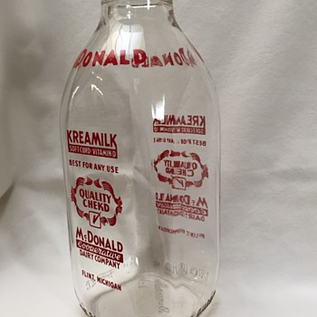 My pretty milk bottle