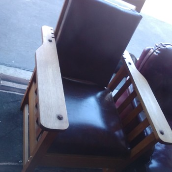 Arts and crafts Morris chair from Pasadena ca - Furniture