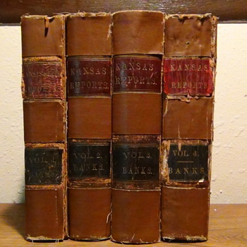Civil War Era Court boos 1862 - 67 with cases dating back several years  - Books