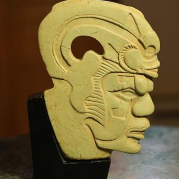 Aztec / Mayan Ball Player?