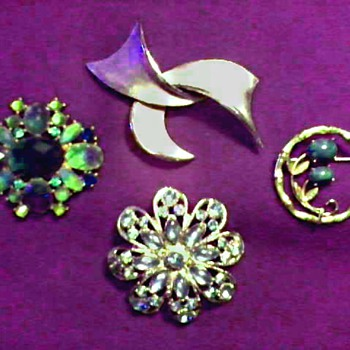 Trifari - Krementz - Liz Claiborne Costume Jewelry / Mid Century and Later - Costume Jewelry