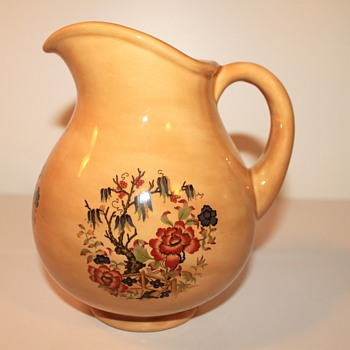 Signed High Gloss Pitcher  - Pottery