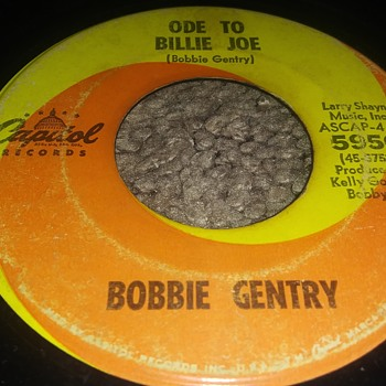 Miss Bobbie Gentry...On 45 RPM Vinyl - Records