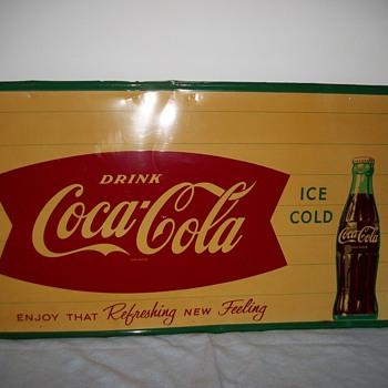 Coca Cola Fishtail sign - Coca-Cola