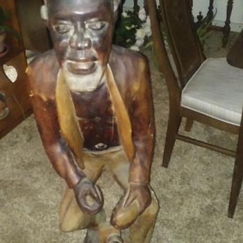Wooden Man - Folk Art