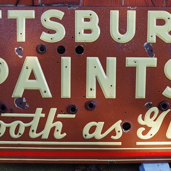Current restoration of Neon sign needing pass through bushings. - Signs