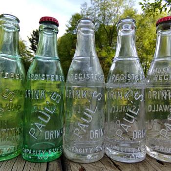 Paul's Drinks - Bottles