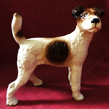 Wire Hair Fox Terrier Doorstop - Animals