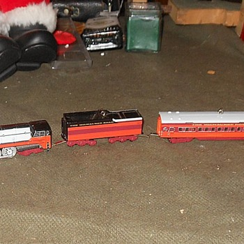 Hallmark Train Ornaments Milwaukee Road